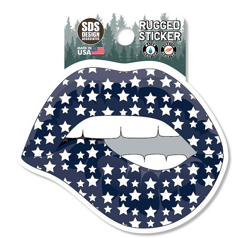 Penn State Lips & Stars Rugged Sticker Nittany Lions (PSU)