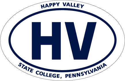 """Penn State Magnet Euro-Style Happy Valley - 4"""" x 6"""" Nittany Lions (PSU) DPSU25"""