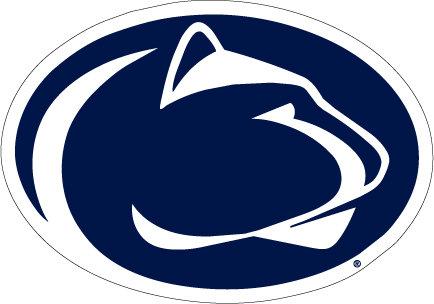 "Penn State Magnet Large Lion Logo - 8 "" x 12"" Nittany Lions (PSU) PSU004"