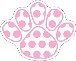 Penn State Magnet Pink Polka Dot Size Medium Nittany Lions (PSU) PSU069