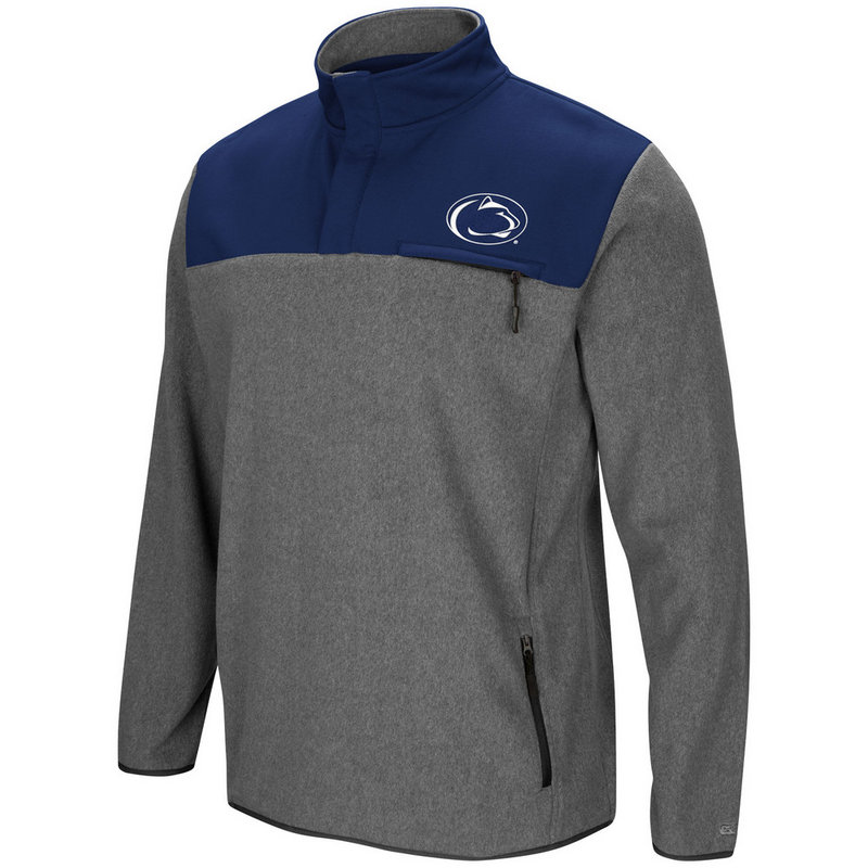 Penn State Mens 1/2 Snap Fleece Jacket Nittany Lions (PSU)