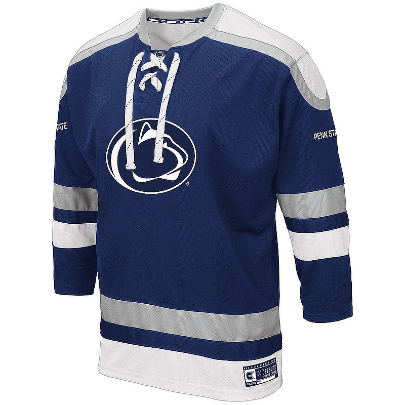 Penn State Mens Embroidered Athletic Hockey Jersey Nittany Lions (PSU)
