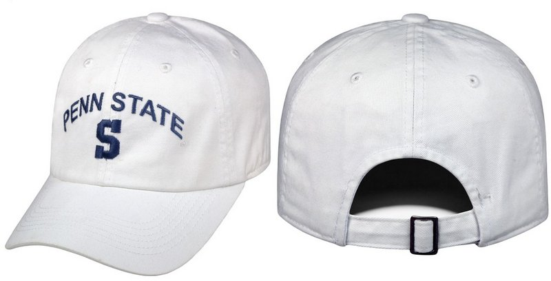 Penn State Mens Hat Arching Over Block S White Nittany Lions (PSU)