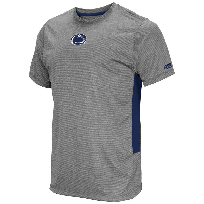 Penn State Mens Heather Charcoal Performance T-Shirt Nittany Lions (PSU)