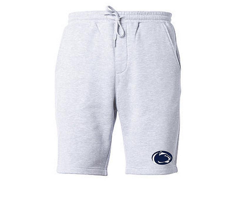 Penn State Mens Heather Grey Fleece Shorts Nittany Lions (PSU)