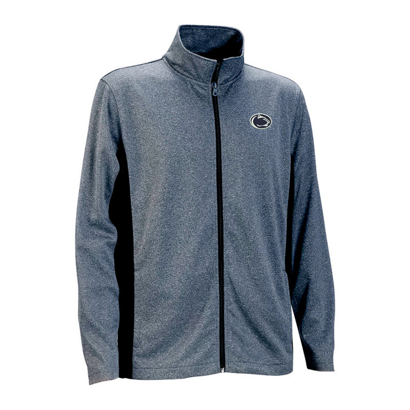 Penn State Mens Heathered Blocked Knit Performance Jacket Nittany Lions (PSU)