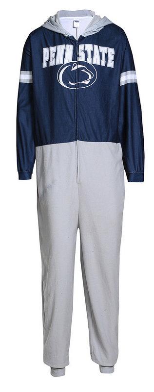 Penn State Mens Hooded Onesie Pajamas Nittany Lions (PSU)