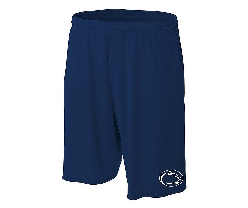 Penn State Mens Moisture Wicking Navy Shorts with Side Pockets Nittany Lions (PSU)