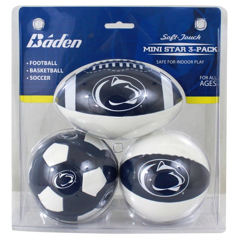 Penn State Mini Star 3-Pack Nittany Lions (PSU)