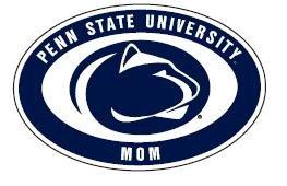 "Penn State Mom Magnet 4"" X 6"" Nittany Lions (PSU) PSU093"