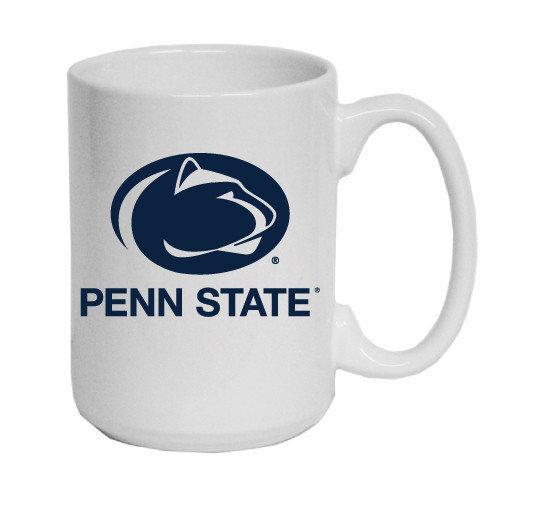 Penn State Mug Varsity Logo White Jumbo Nittany Lions (PSU) 7170-WH