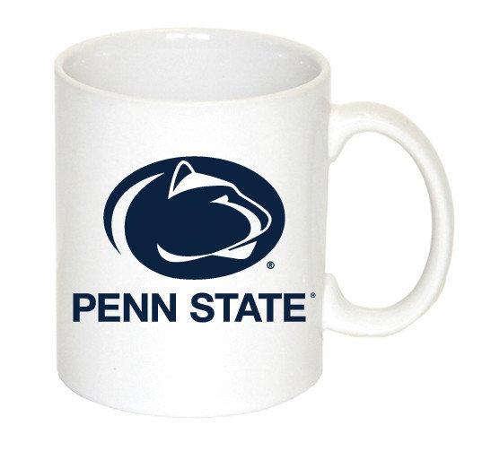 Penn State Mug Varsity Logo White Nittany Lions (PSU) 8601-WH