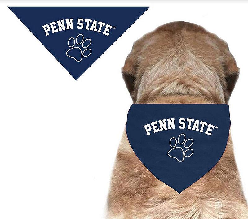 Penn State Navy Dog Bandana Nittany Lions (PSU)