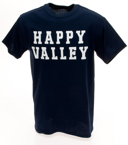 Penn State Navy Happy Valley T-shirt Nittany Lions (PSU) 005PSU