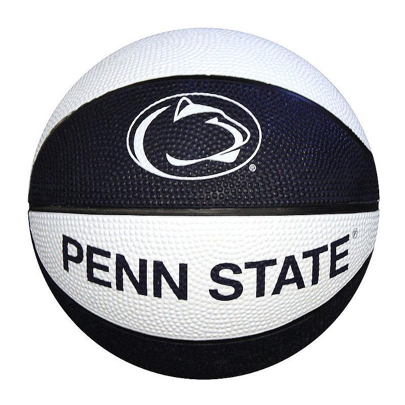 Penn State Navy & White Mini Rubber Basketball Nittany Lions (PSU)