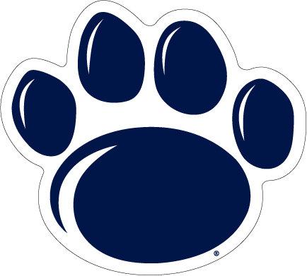 Penn State New Paw Magnet Medium Nittany Lions (PSU) PSU058