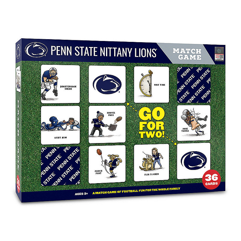Penn State Nitany Lions Football Memory Match Game Nittany Lions (PSU)