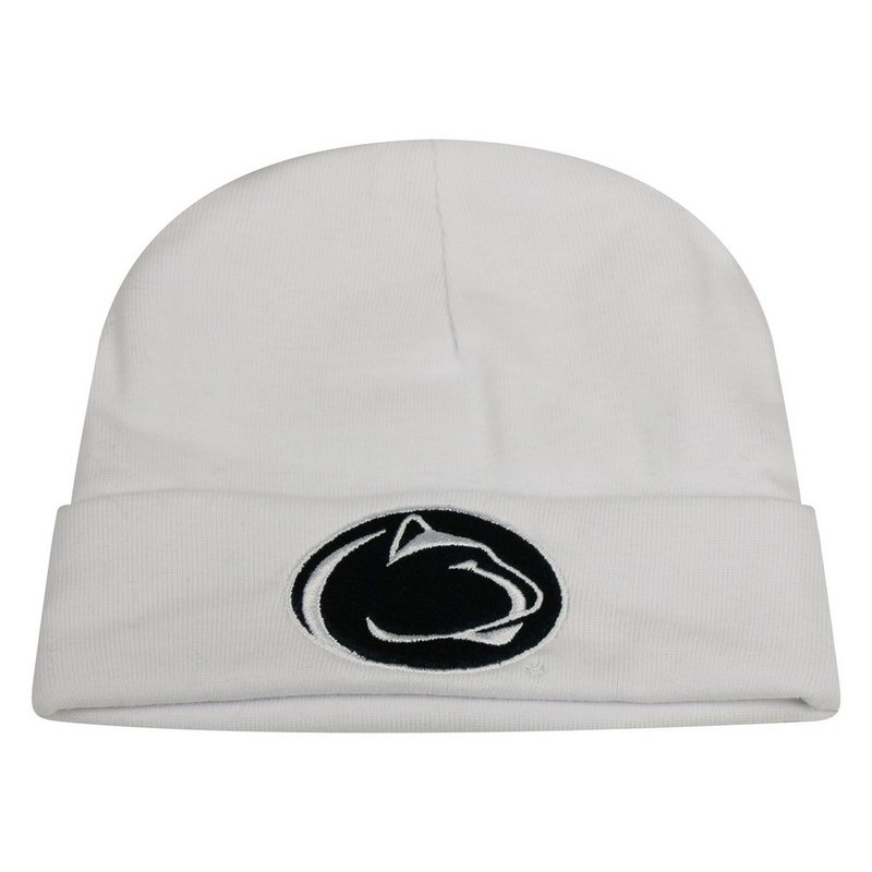 fd449d5c8 ... coupon code penn state nittany lion knit hat cuffed white nittany lions  psu fd7c6 3b8d7