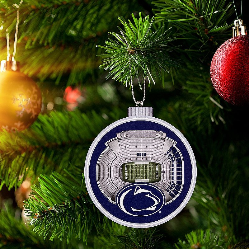 Penn State Nittany Lions 3D Beaver Stadium View Ornament Nittany Lions (PSU)