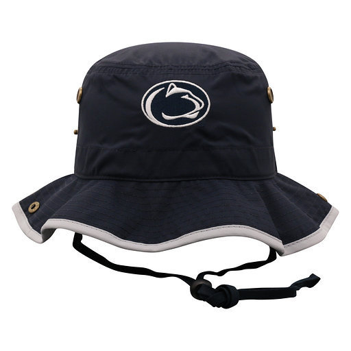 Penn State Nittany Lions Bucket Hat Navy with Grey Trim Nittany Lions (PSU)