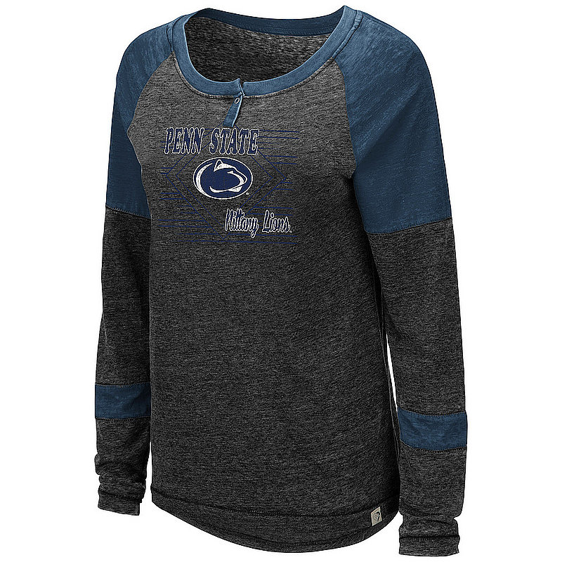 Penn State Nittany Lions Burnout Henley Nittany Lions (PSU)