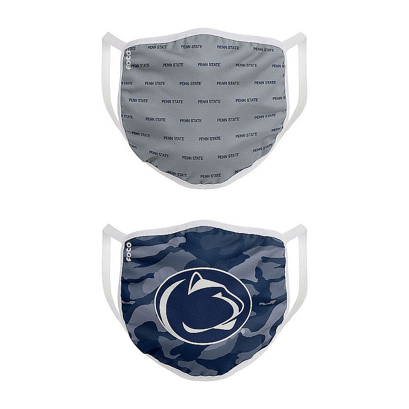 Penn State Nittany Lions Camo 2 Pack Masks Nittany Lions (PSU)