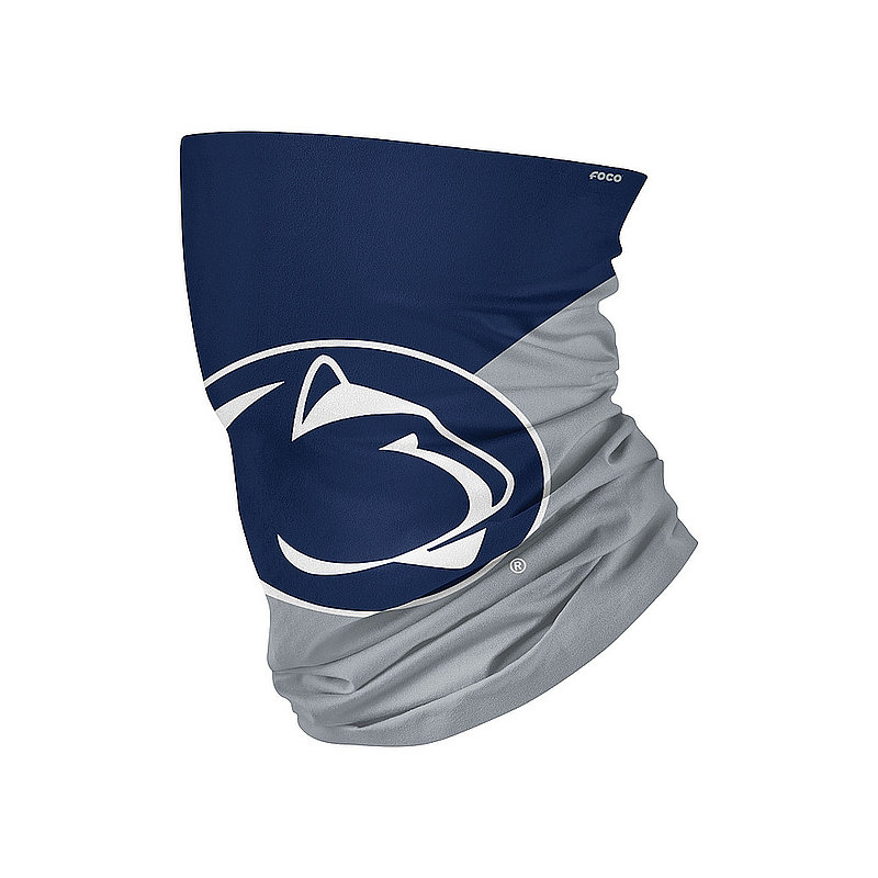 Penn State Nittany Lions Color Block Neck Gaiter Scarf Nittany Lions (PSU)