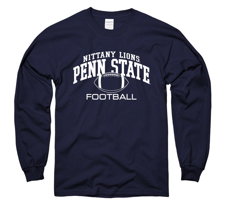 Penn State Nittany Lions Football Long Sleeve Navy Nittany Lions (PSU)