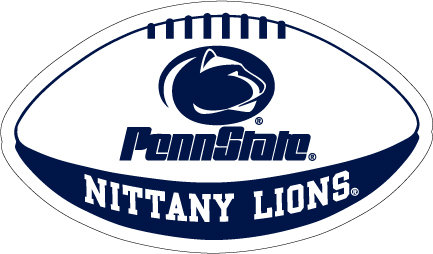 """Penn State Nittany Lions Football Magnet - 12"""" Nittany Lions (PSU)"""