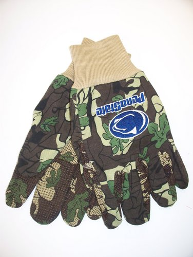 Penn State Nittany Lions Gardening Work Gloves Camo Nittany Lions (PSU)