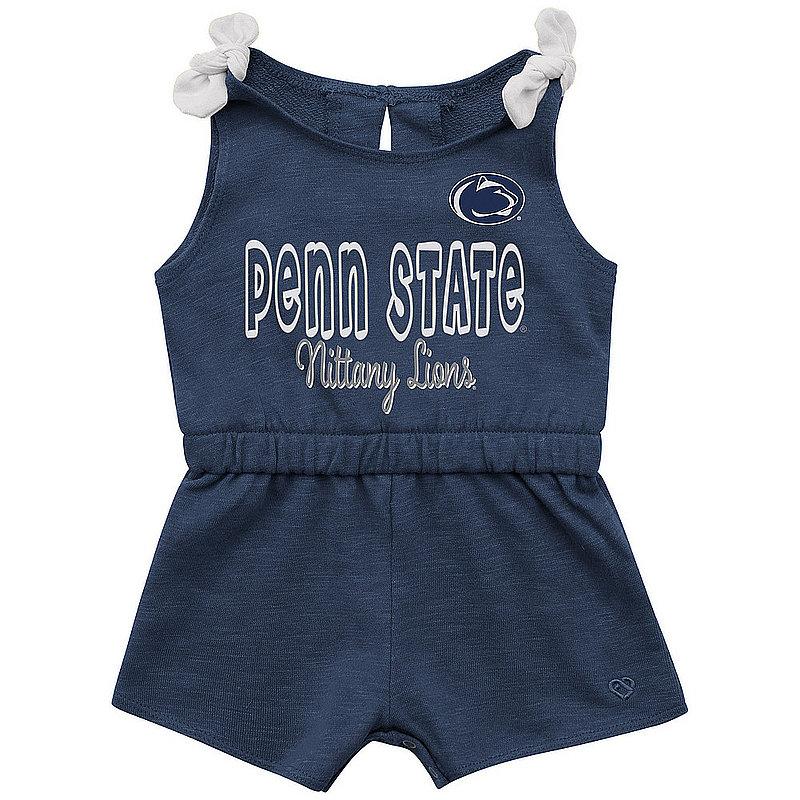 Penn State Nittany Lions Girls Navy Haparoo Romper Nittany Lions (PSU)