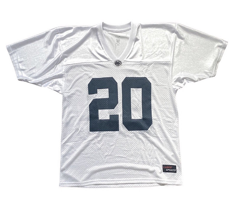 Penn State Nittany Lions Kids Football Jersey White #20 Nittany Lions (PSU)