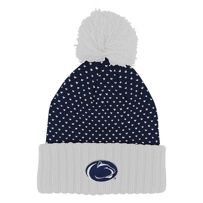 Penn State Nittany Lions Knit Polka Dot Pom Beanie Nittany Lions (PSU)