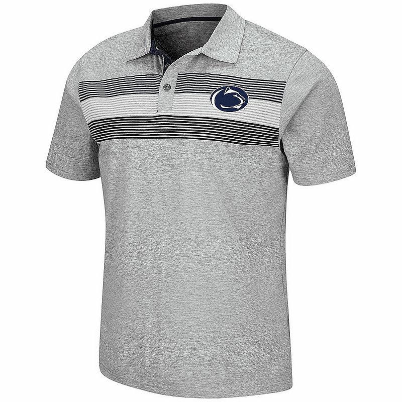 Penn State Nittany Lions Light Grey Stinson Cotton Polo