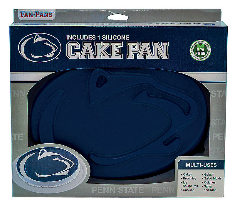 Penn State Nittany Lions Lion Head Cake Pan Nittany Lions (PSU)