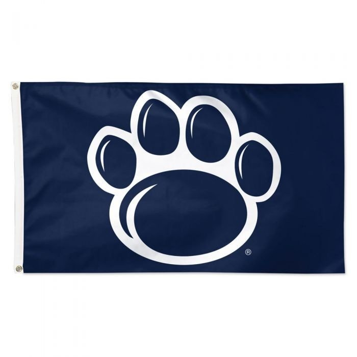 Penn State Nittany Lions Paw Deluxe Flag 3'x 5' Nittany Lions (PSU)