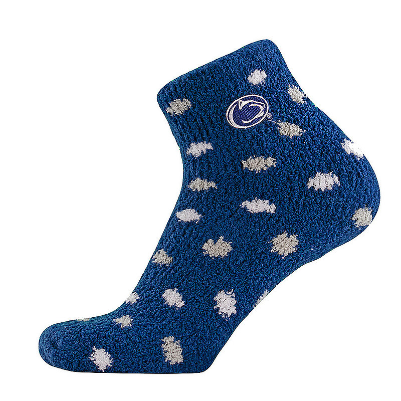 2d9ea2b6d2c Penn State Nittany Lions Polka Dot Fuzzy Socks Nittany Lions (PSU)