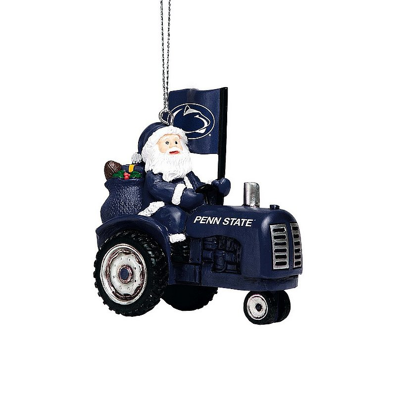 Penn State Nittany Lions Santa Tractor Ornament