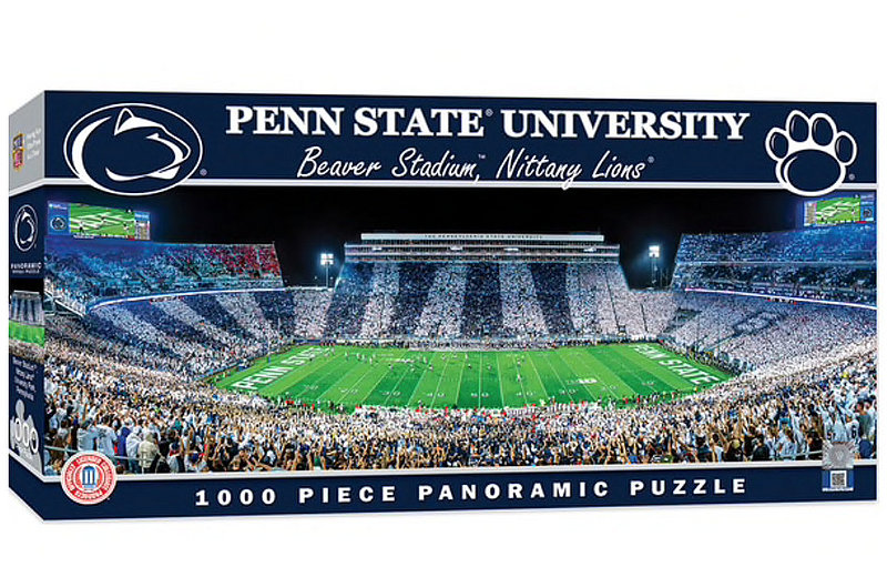 Penn State Nittany Lions Stadium Panoramic Jigsaw Puzzle 1000 pieces