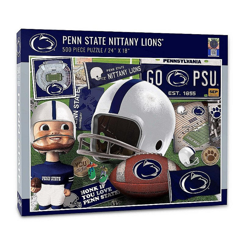 Penn State Nittany Lions Super Fan 500 Piece Puzzle Nittany Lions (PSU)
