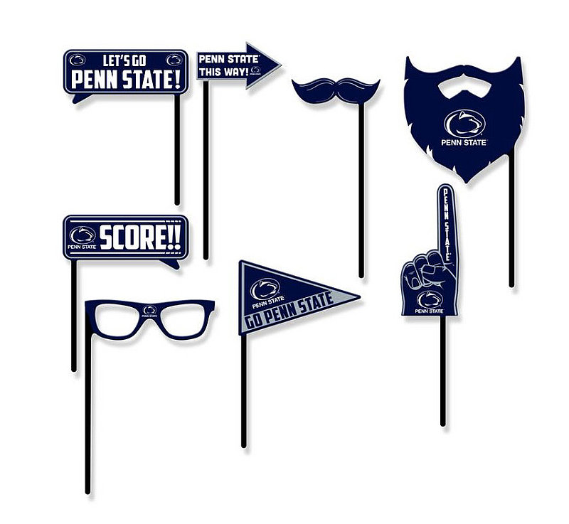 Penn State Nittany Lions Team Party Photo Props