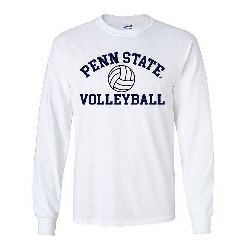 Penn State Nittany Lions Volleyball Long Sleeve White Nittany Lions (PSU)
