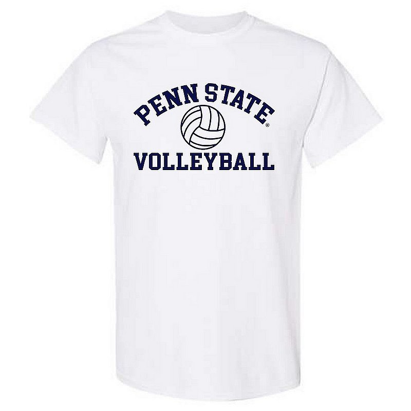 Penn State Nittany Lions Volleyball T-Shirt White Nittany Lions (PSU)