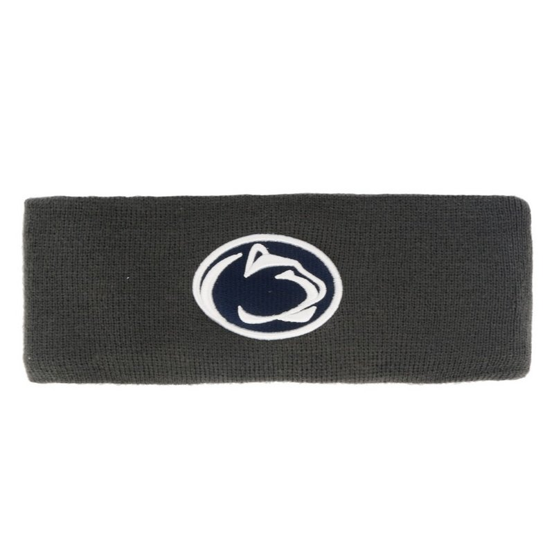 Penn State Nittany Lions Winter Head Band Charcoal