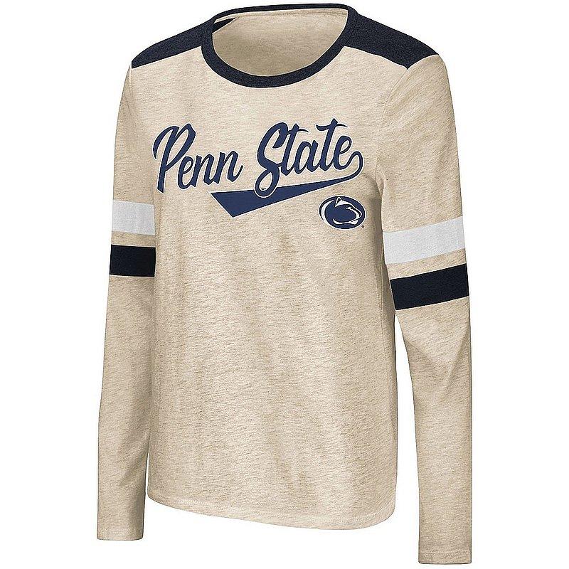 Penn State Nittany Lions Women's Oatmeal Long Sleeve Tee Nittany Lions (PSU)