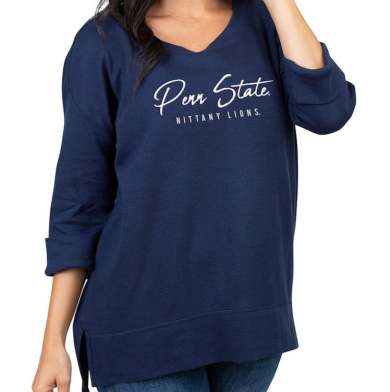 Penn State Nittany Lions Women's Waffle Boat Neck Top Nittany Lions (PSU)