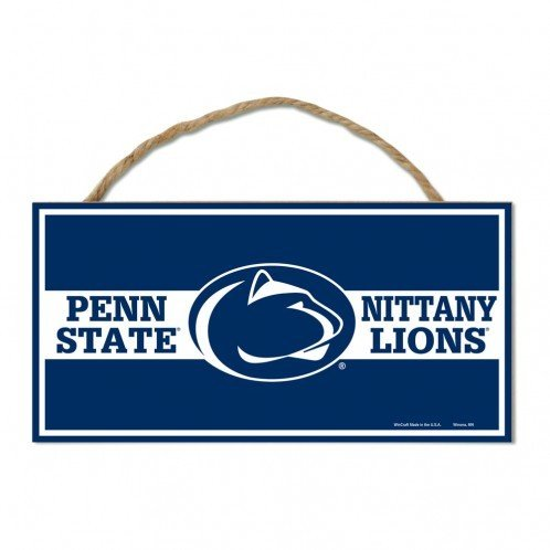 Penn State Nittany Lions Wood Sign W/Rope Nittany Lions (PSU)
