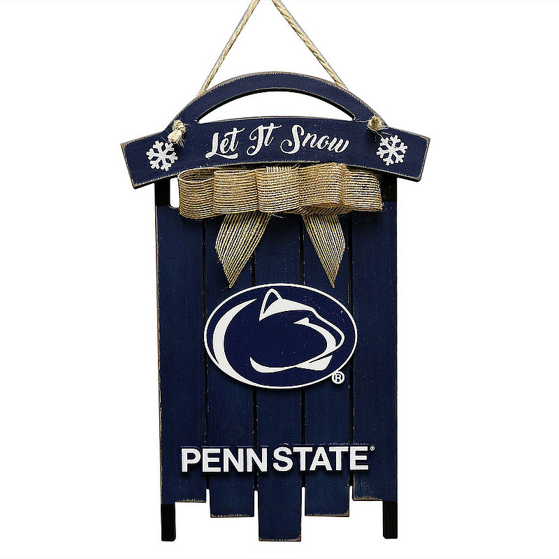 Penn State Nittany Lions Wooden Sled Sign Nittany Lions (PSU)