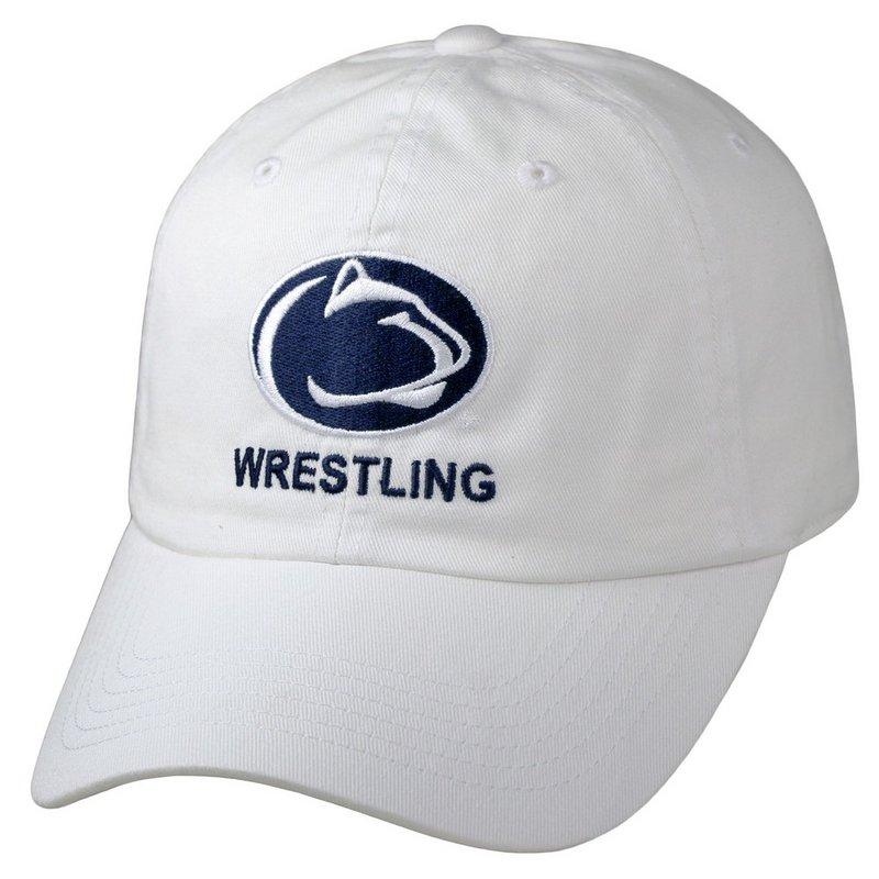 Penn State Nittany Lions Wrestling Hat White Nittany Lions (PSU)