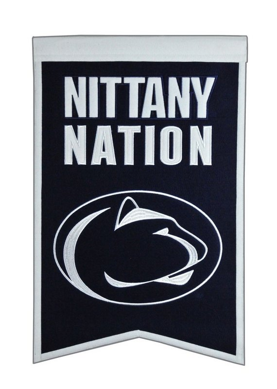 Penn State Nittany Nation Wool Banner